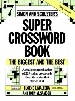 Simon & Schuster Super Crossword Book, Volume 7
