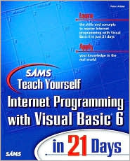 Sams Teach Yourself Internet Programming with Visual Basic in 21 Days