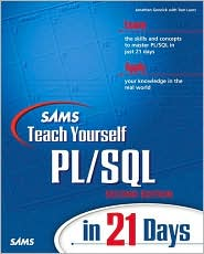 Sams Teach Yourself PL/SQL in 21 Days