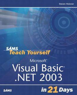 Sams Teach Yourself Visual Basic.NET in 21 Days