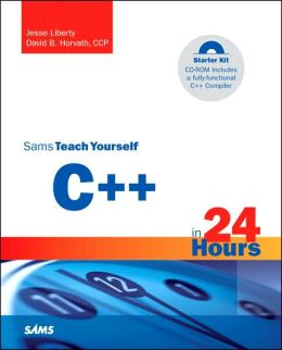 Sams Teach Yourself C++ in 24 Hours with CD ROM