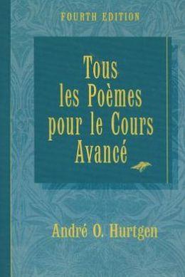 Tous Les Poemes Pour Le Cours Avance