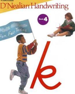 Dnealian Handwriting 1993 Student Edition (Consumable) Grade 4