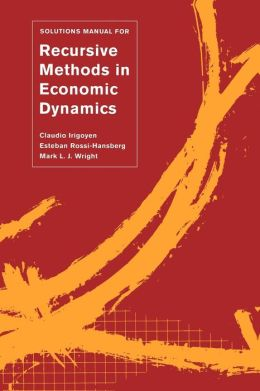 Solutions Manual For ≪I≫Recursive Methods In Economic Dynamics≪/I≫