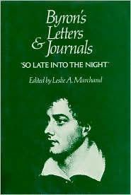 Byron's Letters and Journals, Volume V: 'So Late Into the Night', 1816-1817