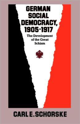 German Social Democracy, 1905-1917