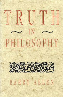 Truth In Philosophy P