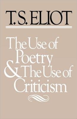 Use of Poetry and Use of Criticism