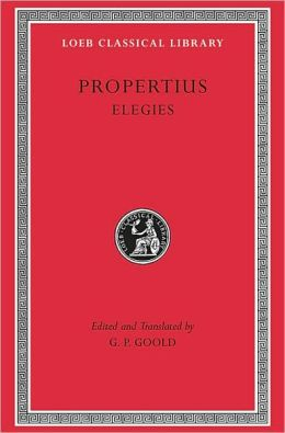 Elegies (Loeb Classical Library)
