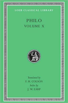 Volume X, On the Embassy to Gaius. General Indexes (Loeb Classical Library)