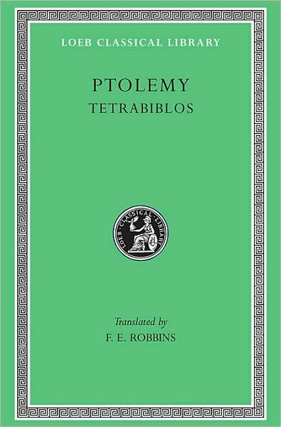 Tetrabiblos (Loeb Classical Library)