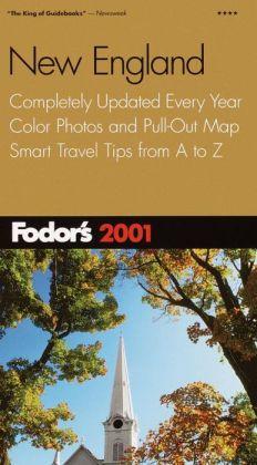 Fodor's New England 2001