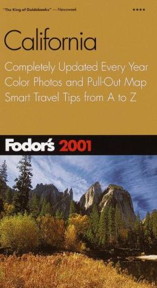 Fodor's California 2001