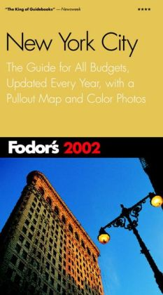 Fodor's New York City 2002