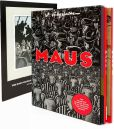 Book Cover Image. Title: Maus:  A Survivor's Tale - 2 Volume Boxed Set, Author: Art Spiegelman