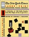 New York Times Large Type Crossword Puzzle Omnibus