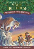 Book Cover Image. Title: Sunset of the Sabertooth (Magic Tree House Series #7), Author: Mary Pope Osborne