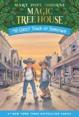 Book Cover Image. Title: Ghost Town at Sundown (Magic Tree House Series #10), Author: Mary Pope Osborne