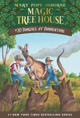 Dingoes at Dinnertime (Magic Tree House Series #20)