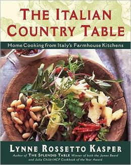 Italian Country Table: Home Cooking from Italy's Farmhouse Kitchens