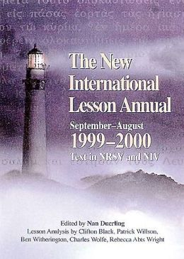 New International Lesson Annual, 1999-2000