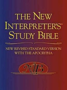 New Revised Standard Version New Interpreter's Study Bible: New Revised Standard Version with Apocrypha (Hardcover with Dust Jacket)