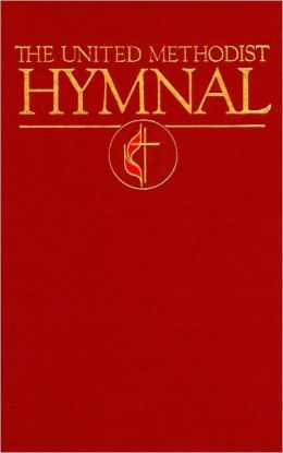 United Methodist Hymnal Dark Red