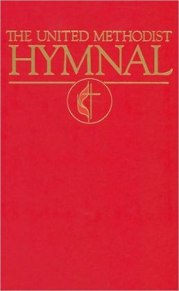 United Methodist Hymnal Pew Bright Red White Edge