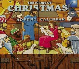 The Story of Christmas Advent Calendar: Includes 25 Small Numbered Books
