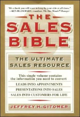 Sales Bible: The Ultimate Sales Resource