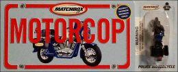 Motorcop (Matchbox License Plate Books Series)