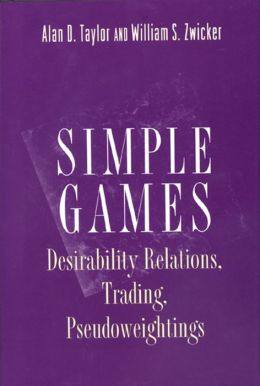 Simple Games: Desirability Relations, Trading, Pseudoweightings