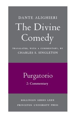 The Divine Comedy, II. Purgatorio. Part 2: Commentary