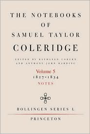 The Notebooks of Samuel Taylor Coleridge, Volume 5: 1827-1834