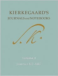 Kierkegaard's Journals and Notebooks: Volume 4, Journals NB-NB5