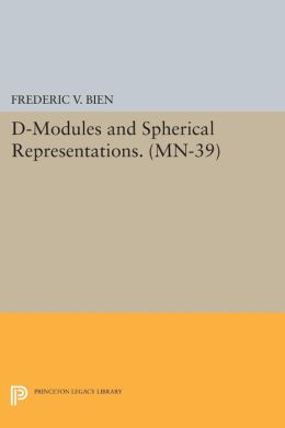 D-Modules and Spherical Representations. (MN-39):