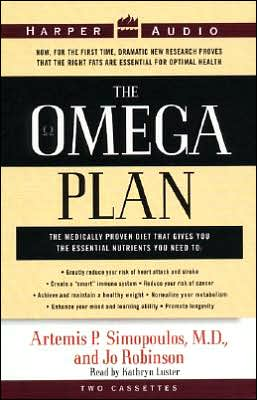 Omega Plan: The Medically Proven Diet That Gives You the Essential Nutrients You Need to Greatly Reduce Your Risk of Heart Attack and Stroke (2 Cassettes)