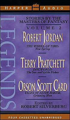 Legends: New Short Novels by the Masters of Modern Fantasy (Wheel of Time, Discworld, Alvin Maker) (2 Cassettes)
