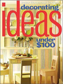 Decorating Ideas under $100