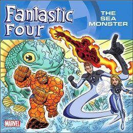 Fantastic Four vs Sea Monster