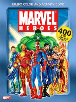 Marvel Heroes Jumbo Color and Activity Book