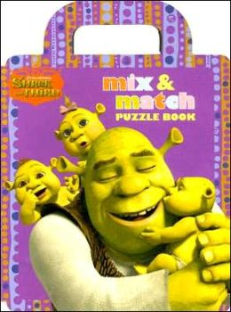 Shrek the Third Mix and Match Puzzle Book