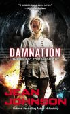 Book Cover Image. Title: Damnation, Author: Jean Johnson