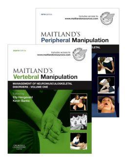 Maitland's Vertebral Manipulation, Volume 1, 8e and Maitland's Peripheral Manipulation, Volume 2, 5e (2-Volume Set): Management of Musculoskeletal Disorders - Volumes 1 & 2