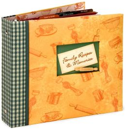 Family Recipes & Memories Rolling Pin Recipe Binder 9X9