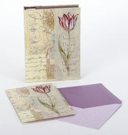 Inspire Tulip Folio Note Card set of 12