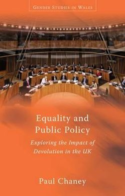 Equality and Public Policy: Exploring the Impact of Devolution in the UK