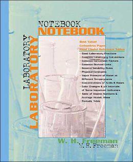 Chemistry Laboratory Student Notebook