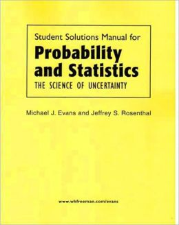 Probability and Statistics Solutions Manual