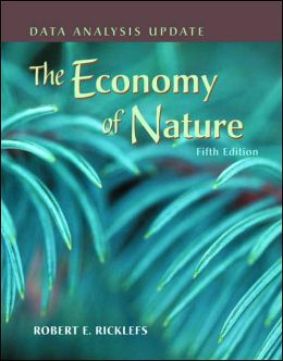 Economy of Nature: Data Analysis Update